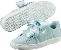 Puma Suede Heart Pebble Dames Blauw