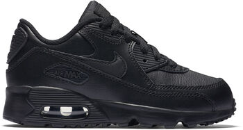 Nike Air Max 90 Leather sneakers Jongens Zwart