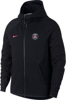 Nike PSG Tech Fleece hoodie Heren Zwart