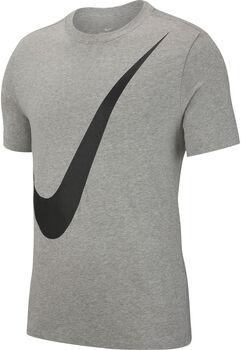 Nike Sportswear Swoosh shirt Heren Grijs