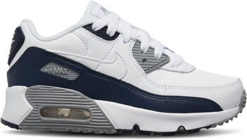 Nike Air Max 90 Leather kids sneakers Wit