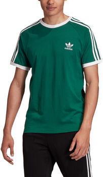 adidas 3-Stripes t-shirt Heren Groen