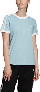 adidas 3-Stripes shirt Dames Blauw