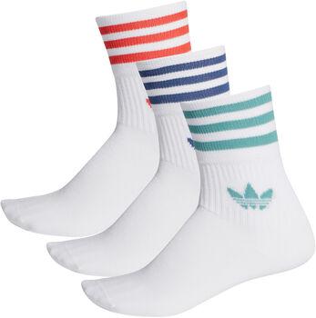 adidas Mid Cut Crew sokken Heren Wit