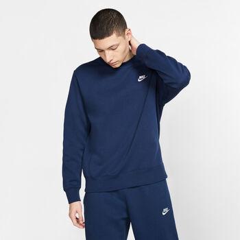Nike Sportswear Club sweater Heren Blauw