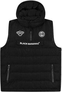 Black Bananas Anorak Block bodywarmer Heren Zwart