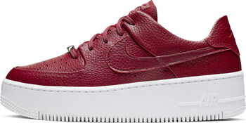 Nike Air Force 1 Sage Low sneakers Dames Rood