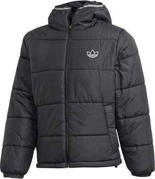 adidas Pad Hooded Puff jas Heren Zwart