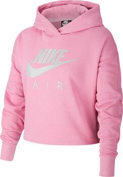 Nike Air Cropped kids hoodie Meisjes Rood