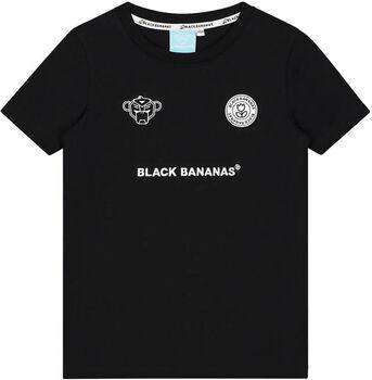 Black Bananas F.C. Basic kids t-shirt Jongens Zwart