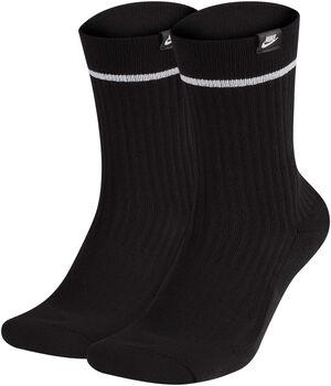 Nike Sneaker Sox Essential Crew sokken (2 paar) Zwart
