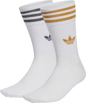 adidas Mid-Cut Glitter sokken (2 paar) Wit