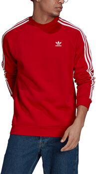 adidas Adicolor Classics 3-Stripes Sweatshirt Heren Rood