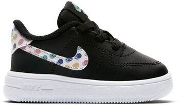 Nike Force 1 '18 - kids Zwart