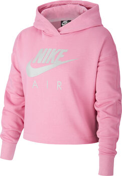 Nike Air Cropped hoodie Meisjes Rood