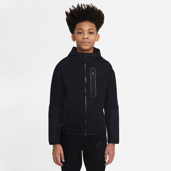 Nike Sportswear Tech Fleece sweater Jongens Zwart