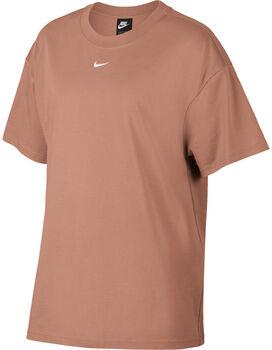 Nike Sportswear Essential t-shirt Dames Rood
