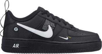 Nike Air Force 1 Lv8 Utility sneakers Jongens Zwart