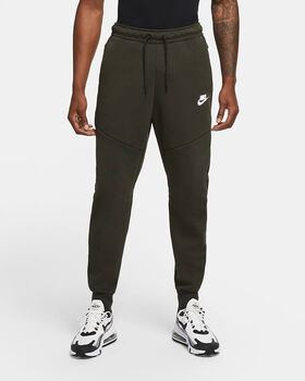 Nike Sportswear Tech Fleece joggingbroek Heren Groen