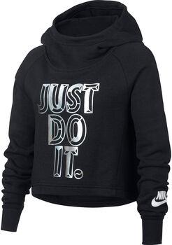 Nike Crop JDI hoodie Meisjes Zwart