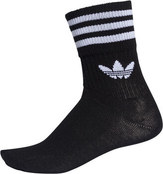 adidas Mid Cut Crew sokken Heren Zwart