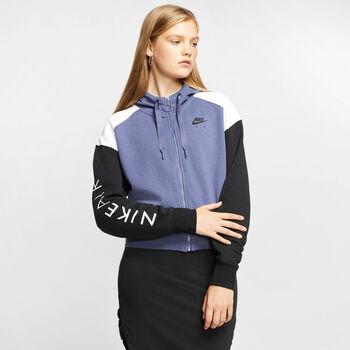 Nike Sportswear Air hoodie Dames Paars