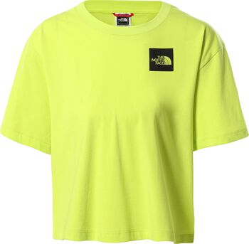 The North Face t-shirt Dames Groen