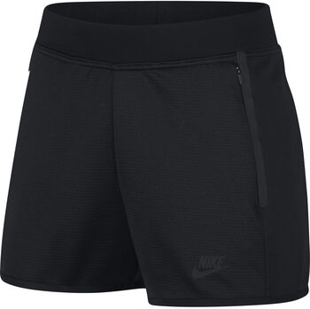 Nike NSW Tech Fleece short Dames Zwart