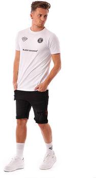 Black Bananas F.C. Basic t-shirt Heren Wit