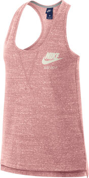 Nike Gym Vintage top Dames Rood