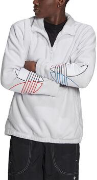 adidas Adicolor Polar Fleece Sweatshirt Heren Grijs