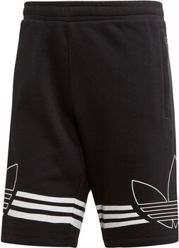 adidas Outline short Heren Zwart