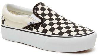 Classic Slip-On Platform Checkerboard sneakers