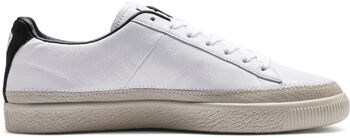 Puma Basket Trim sneakers Heren Wit