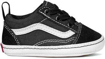 Vans Old Skool Crib kids sneakers Jongens Zwart