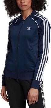 adidas SST trainingsjack Dames Blauw