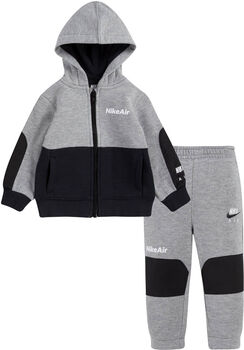 Nike Air Full Zip kids set Jongens Grijs