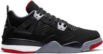 Nike Jordan 4 Retro sneakers Jongens Zwart