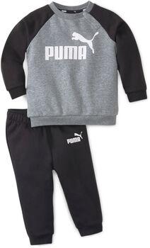 Puma Minicats Essential Raglan kids joggingpak Jongens Zwart