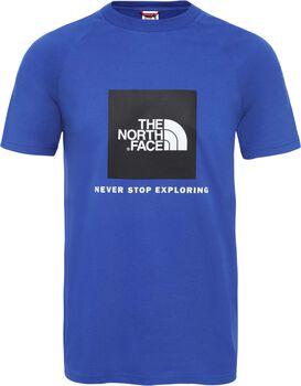 The North Face Redbox t-shirt Heren Blauw