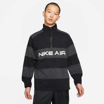 Nike Air 1/2-Zip midlayer Heren Zwart