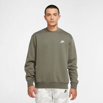 Nike Sportswear Club sweater Heren Groen