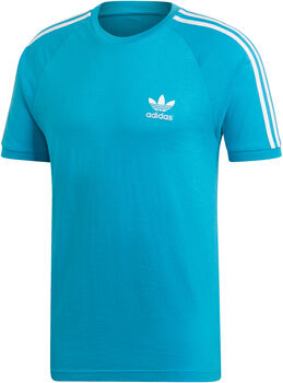 adidas 3-Stripes t-shirt Heren Blauw