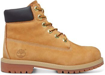 Timberland 6in prem wheat nubuc yellow Geel