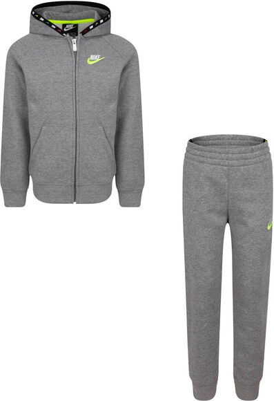 Micro Swoosh Full Zip Fleece kids set