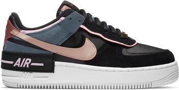 Nike Air Force 1 Shadow sneakers Dames Zwart