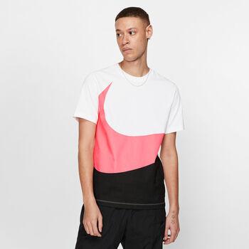 Nike Sportswear Swoosh shirt Heren Wit