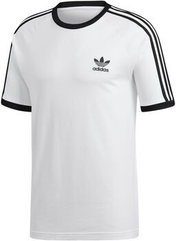 adidas 3-Stripes t-shirt Heren Wit