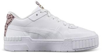 Puma Cali Sport Cheetah sneakers Dames Wit