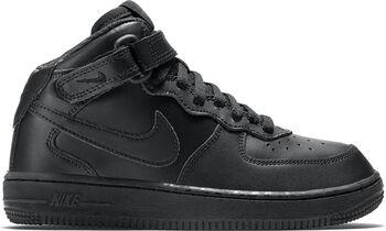 Nike Air Force 1 Mid sneakers Jongens Zwart